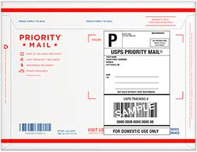 Priority Mail ESA Letters